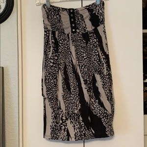 Strapless top/dress